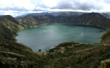 sort of chanced upon this little spot, Laguna Quilotoa