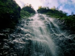 The mystical, secret and difficult to get to waterfalls of ______.