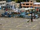 Market aftermath, Zambahua