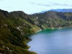 the magical shores of Laguna Quilotoa