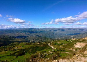 Up and up and up... Cajamarca