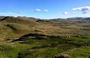 The treeless high plains of Cajamarca
