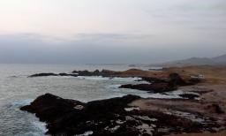 The blurry edge of one world. Huarmey