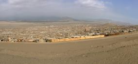 Desert dwellings. Lima