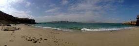 Pleasurable playa de Paracas.
