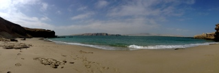 Pleasurable playa de Paracas.