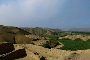 The edge of an ancient empire. Paramonga