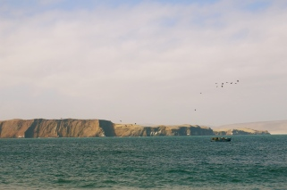 A fisherman's office space. Paracas
