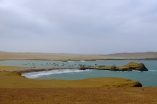 A peaceful fishing bay in Paracas