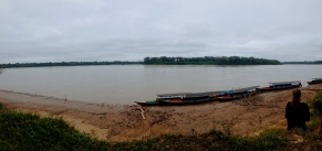 River watching. Puerto Maldonado