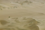 Sailing a sea of sand. Huacachina