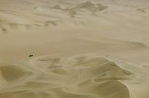 Sailing a sea of sand. Huacachina