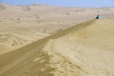 Taking in a great nothingness with togetherness. Huacachina