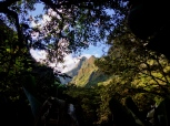 Sneaking peeks of peaks. Sacred Valley