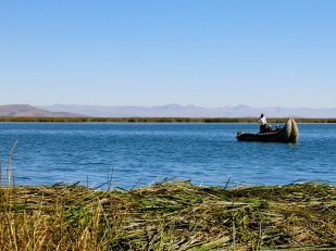 9 to 5 on Lake Titicaca