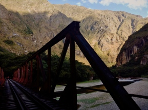 Track tracking. Sacred Valley