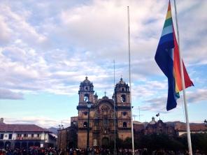 Kindful color collision. Cusco