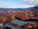 Tin and tile. Cusco