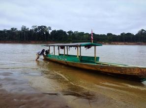 Nelva en la selva. Puerto Maldonado