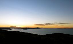 Crepúsculo. Lake Titicaca