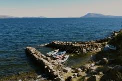 Safe haven. Lake Titicaca