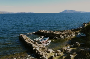 Safe haven. Lake Titicaca