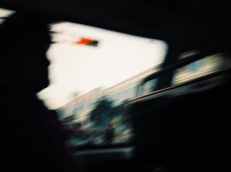 Blurring, blurring, bussing through bunches of busy bustlers, bundled in blandness, boding and foreboding and fear bearing, betting on bests, wishing away worsts, beating on, benignly bored, blurringly, blurringly. Bussing about, blaringly, blindly, blurrily, bluuuurrrr... Lima