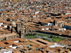 Plaza of Arms. Cusco
