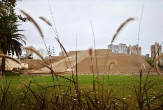 Friendly neighborhood pyramid. Lima