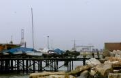 Pier chatting. Callao